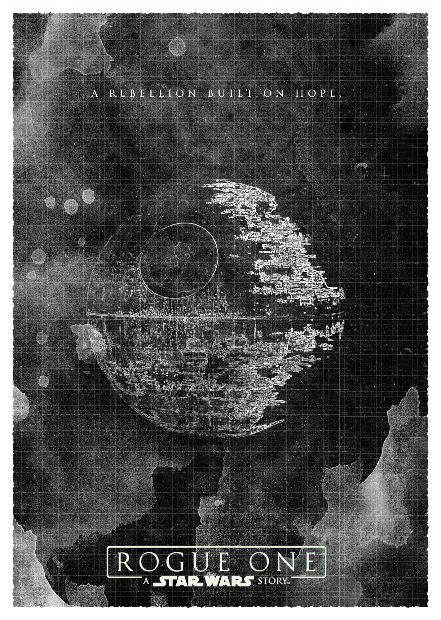 Start Wars Rogue One Poster