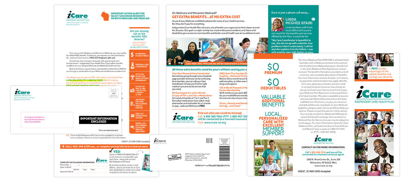 Marketing Results Sample: iCare Direct Mail Sample