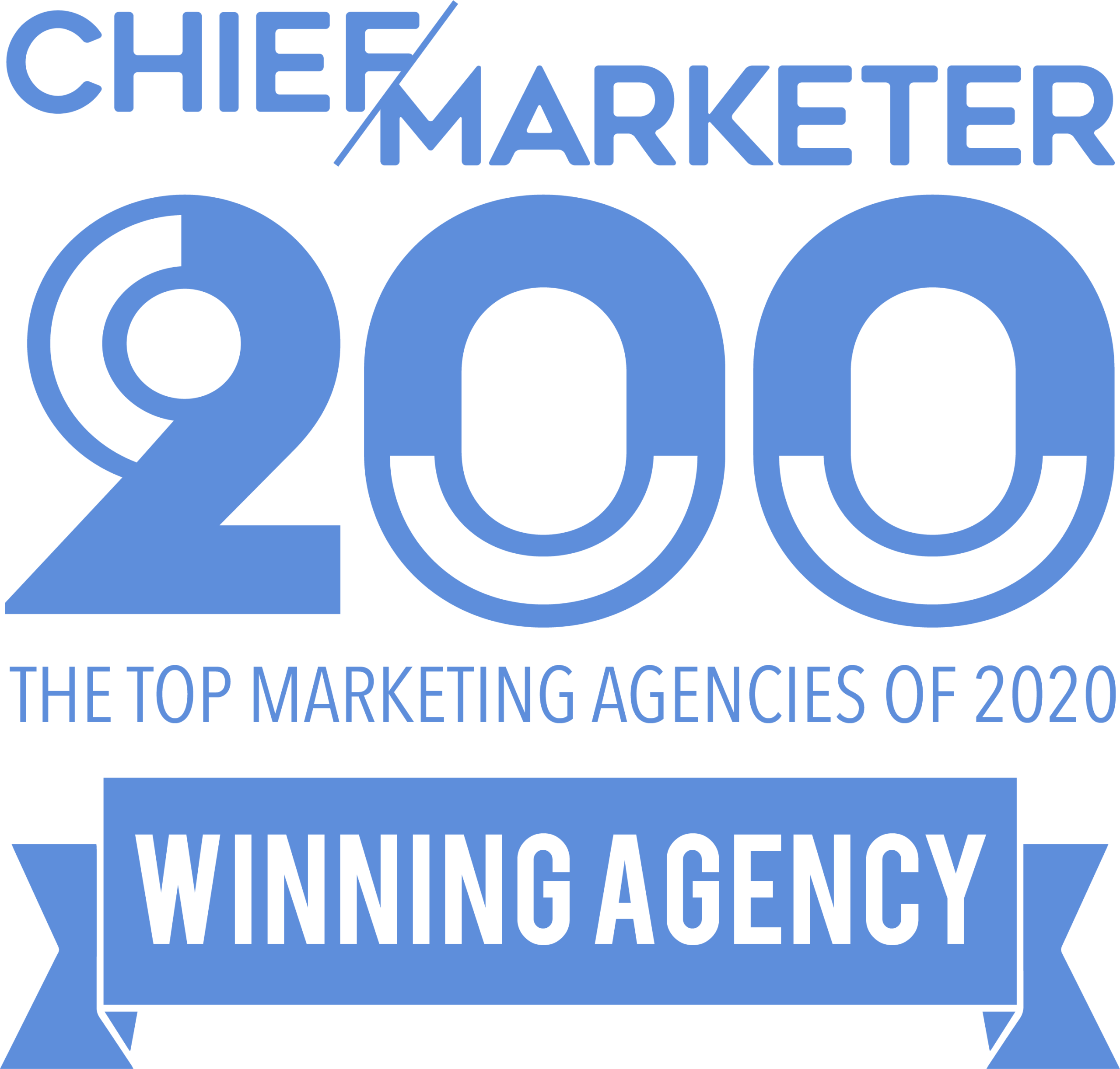 Chief Marketer 200 - The Top Marketing Agencies of 2020 - Winning Agency